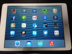 iPad Air電源ON