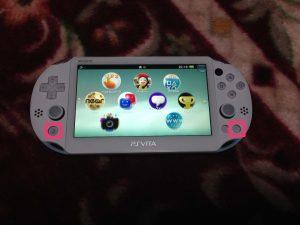 PS Vitaスクリーンショット方法