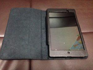 Nexus 7 ケース装着