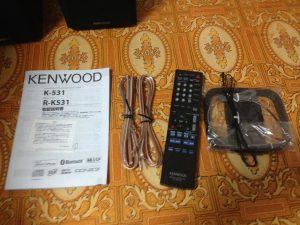 KENWOOD K-531リモコンなど