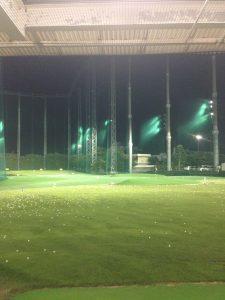 ゴルフ打ちっぱなし場