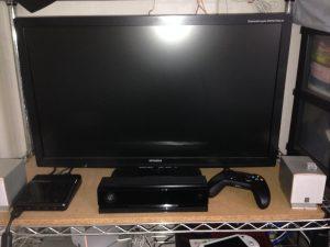 Kinect設置