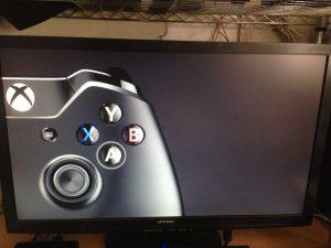 Xbox One設定画面
