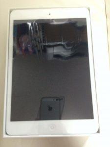 iPad mini 2 外箱開封