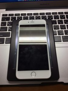 iPhone 6 PlusとKindleの大きさ比較