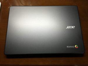 Chromebook本体 表面