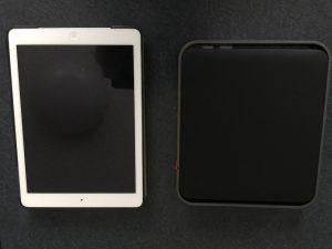 iPadとWZR-1750を比較