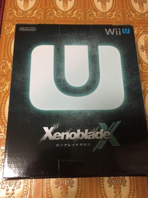Wii U本体箱裏面