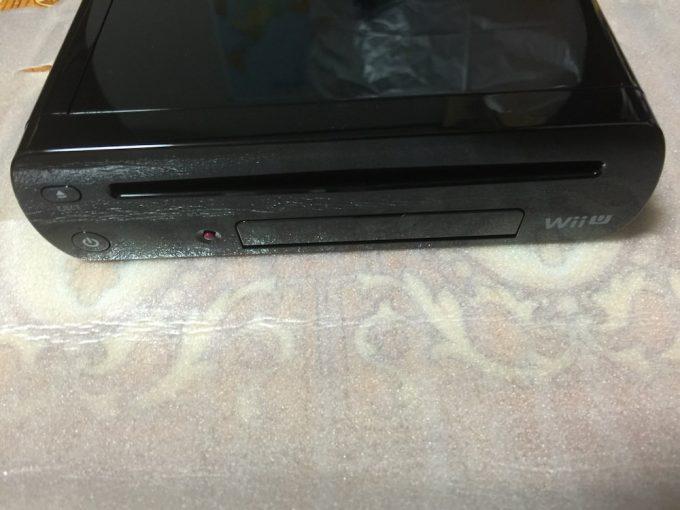 Wii U本体前面