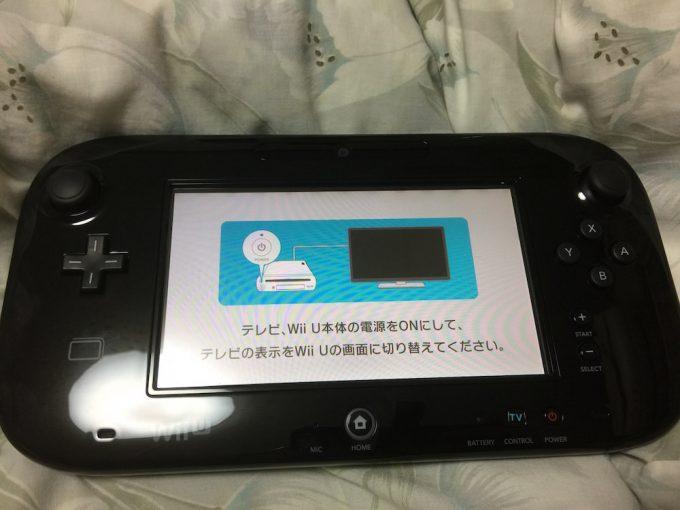 GamePadの画面