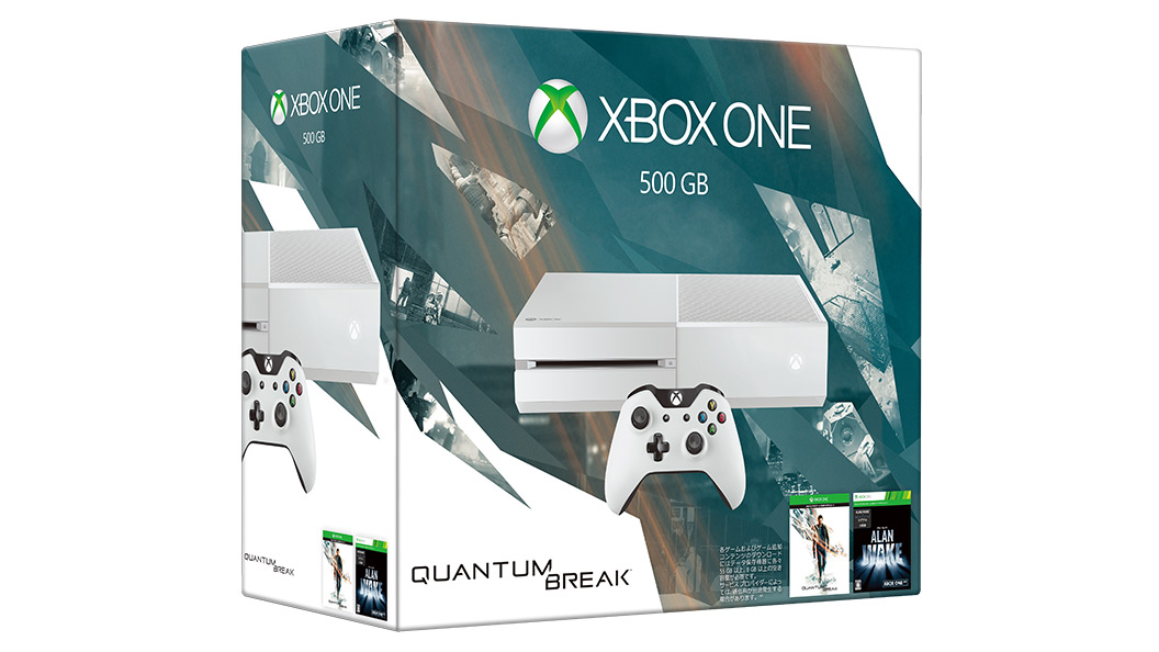 Xbox One Quantum Break本体同梱版