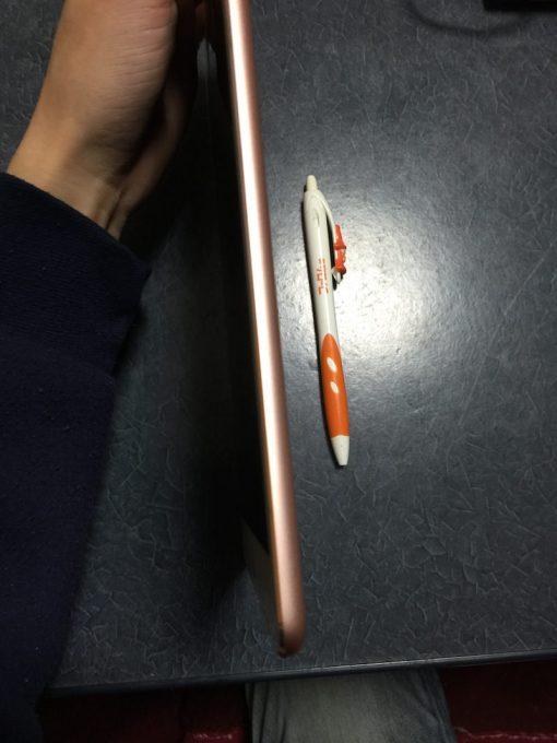 iPad Proの薄さ比較