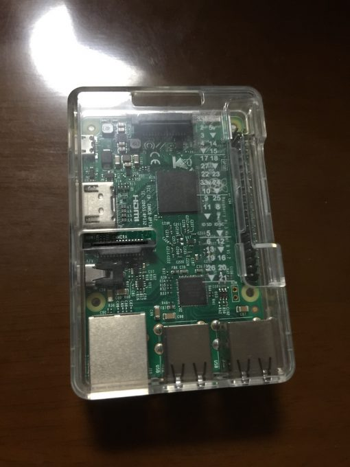 Raspberry Pi3本体