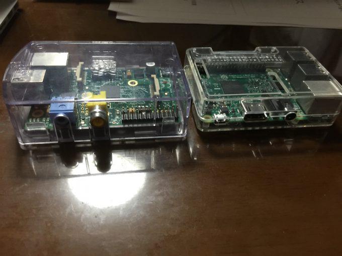 初代Raspberry PiとRaspberry Pi3比較(映像出力)