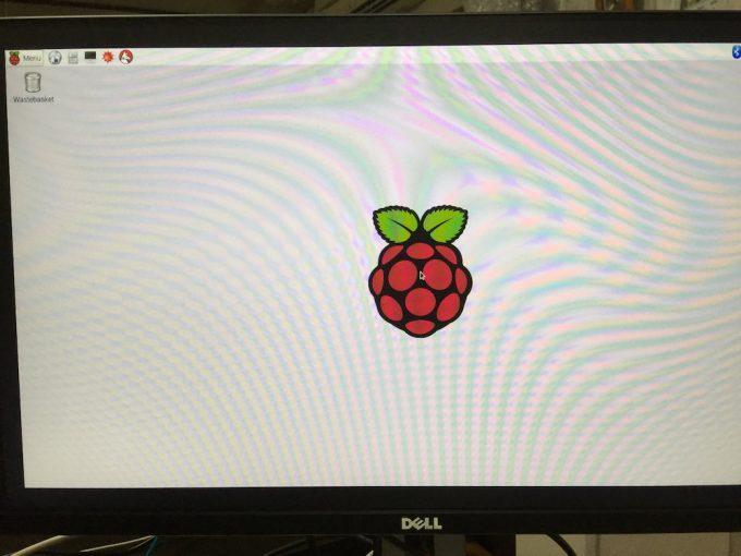 Raspberry Pi3起動画面