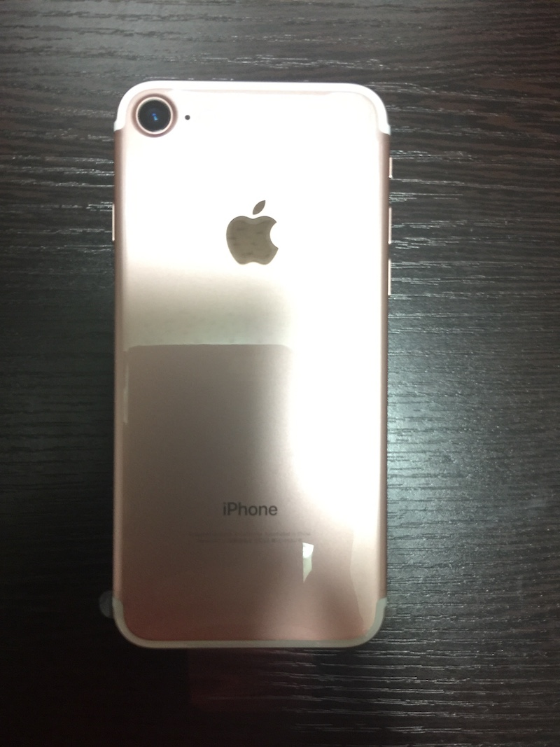 iPhone 7 裏面