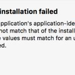 【Xcode】App installation failedのエラーが出たときの対処法【Swift】