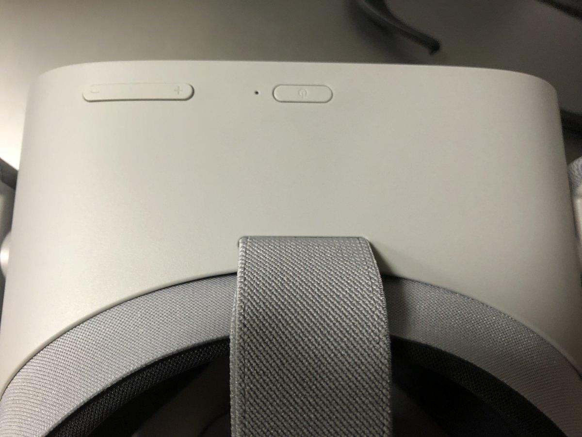 oculus Goボタン類