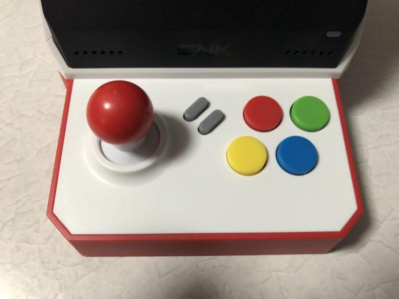 NEOGEO mini ボタン配置