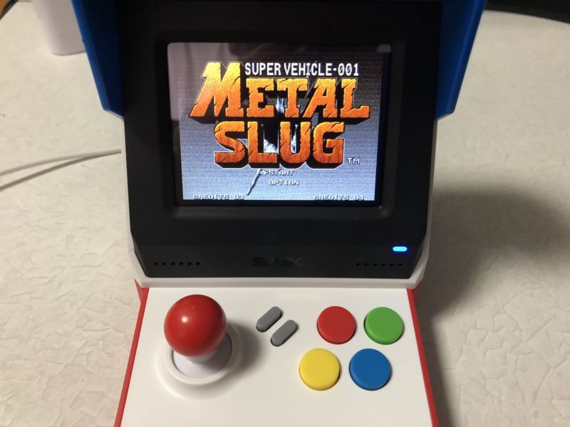METAL SLUGをプレイ