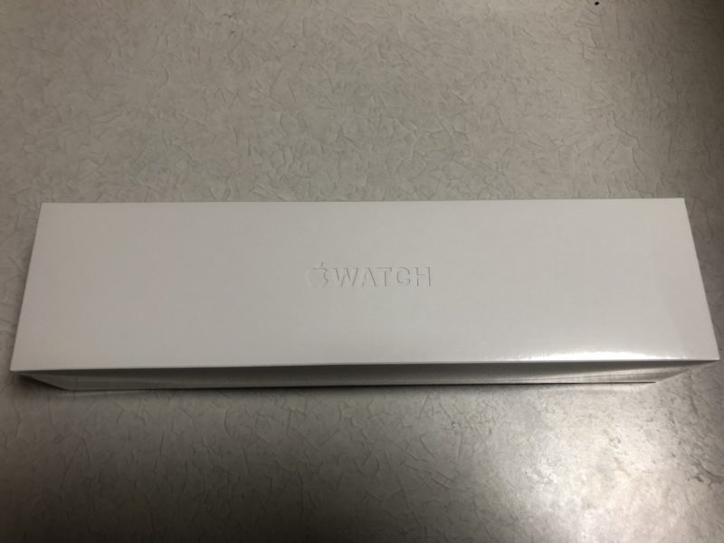 Apple Watch外箱