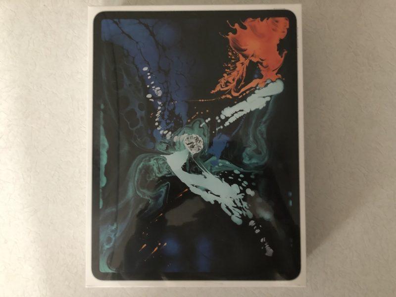 iPad Pro外箱 表面