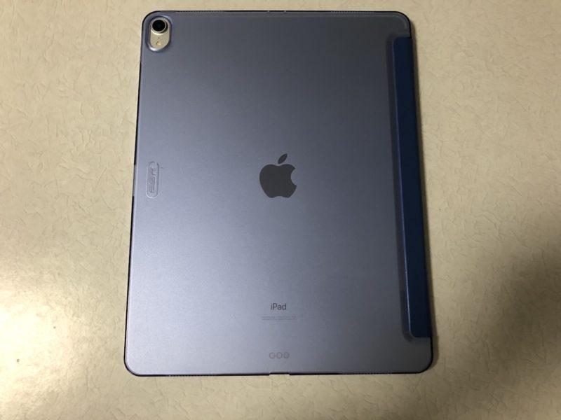 iPad Pro保護ケース装着裏面