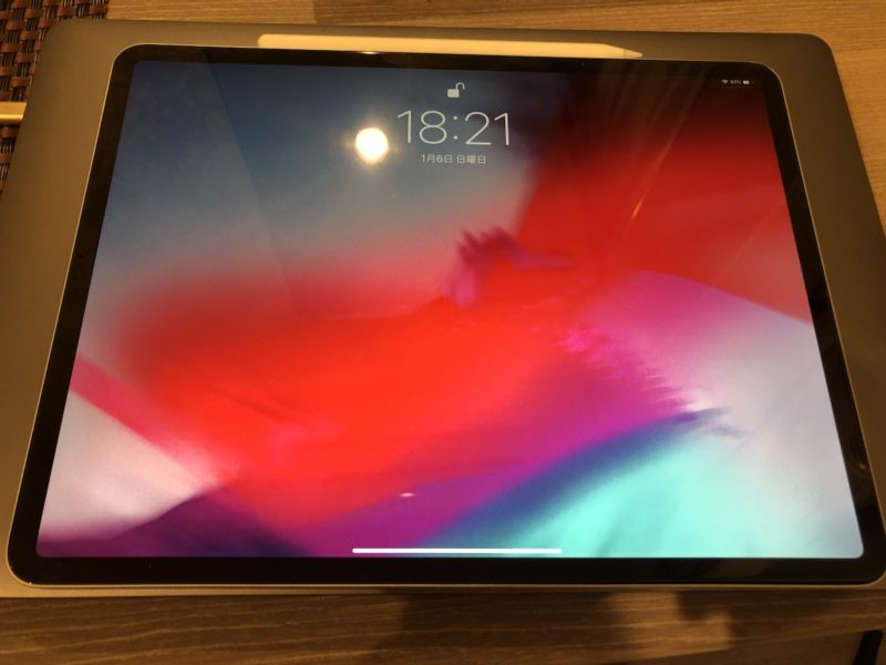 iPad Proと接続