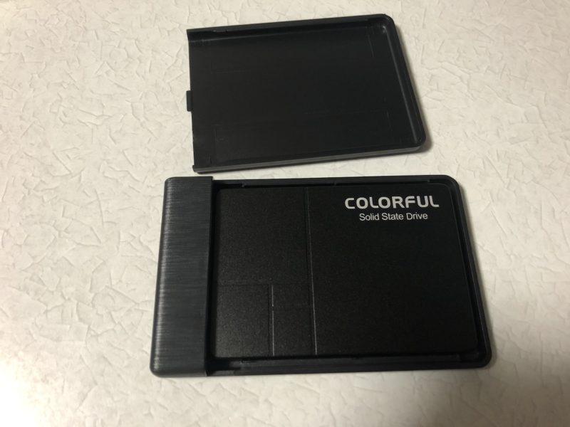SSDの装着