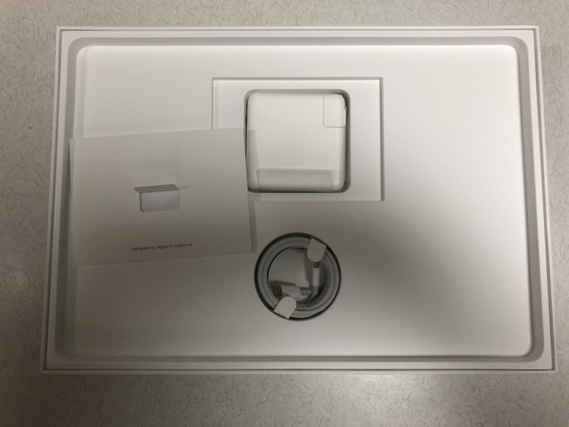MacBook Pro 15インチ 付属品