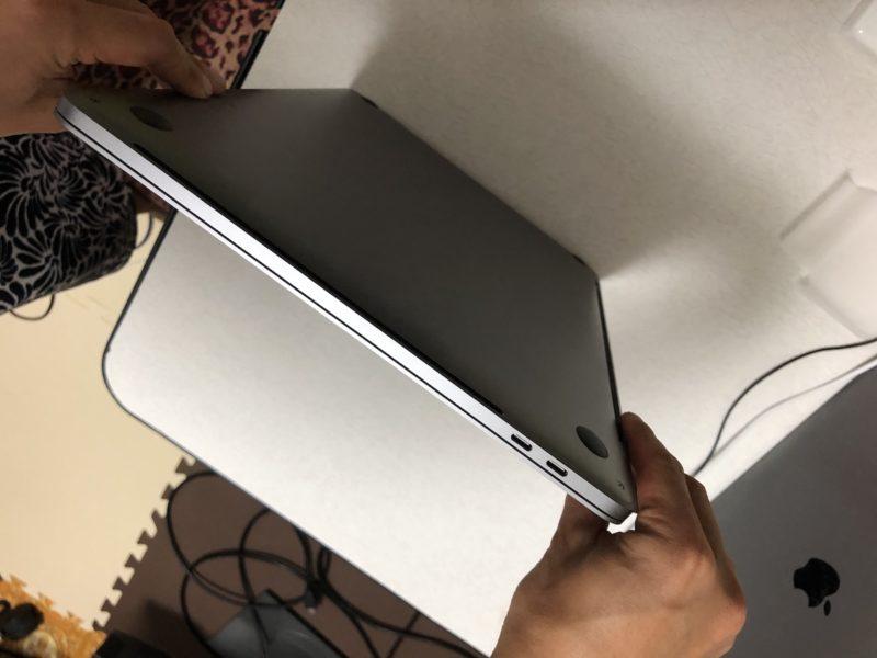 MacBook Pro 15インチ 本体左側面