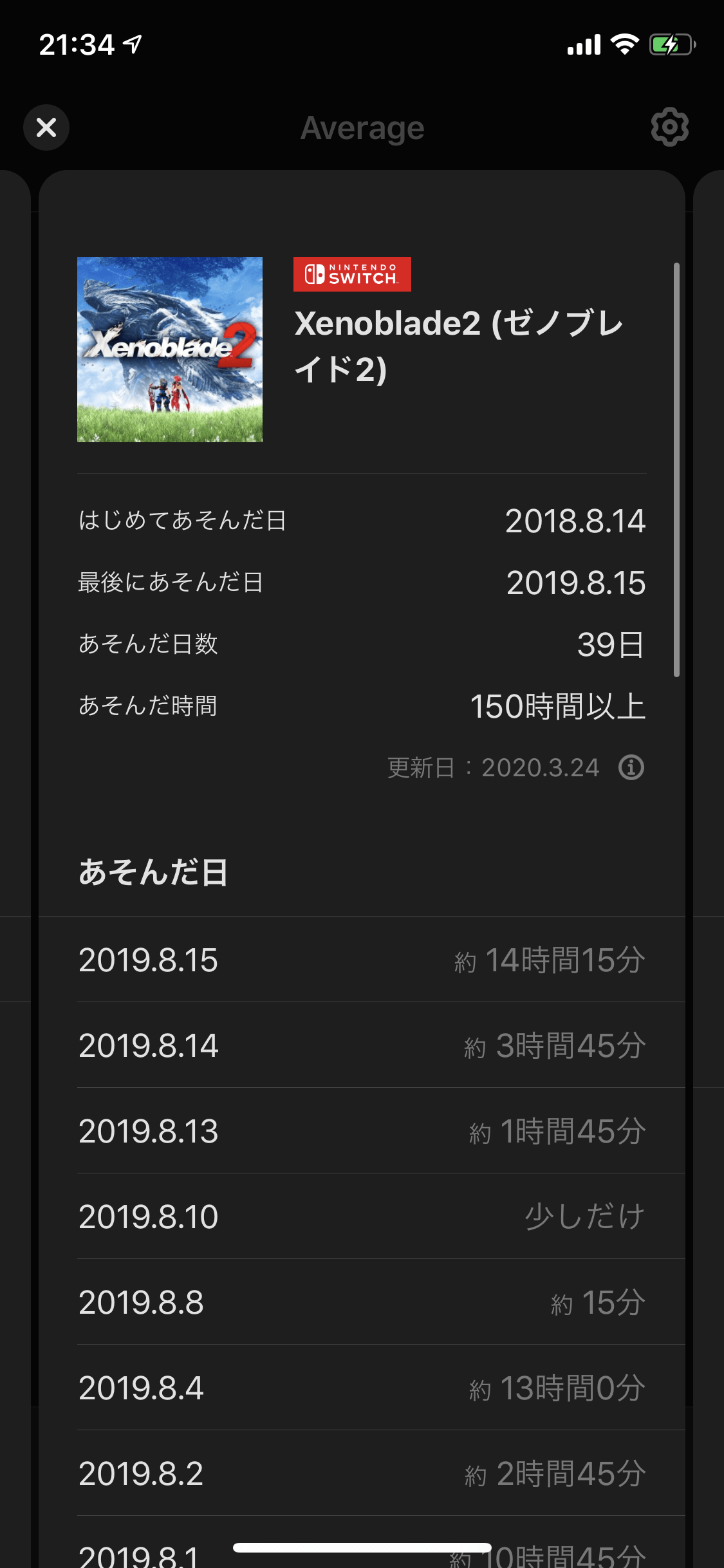 My Nintendoアプリ